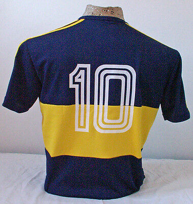 1981 BOCA JUNIORS RETRO ARGENTINA MARADONA FOOTBALL SHIRT SOCCER JERSEY ex MESSI
