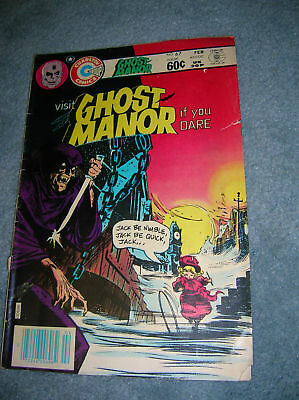 1988 Visit Ghost Manor If You Dare # 67 Charlton Horror