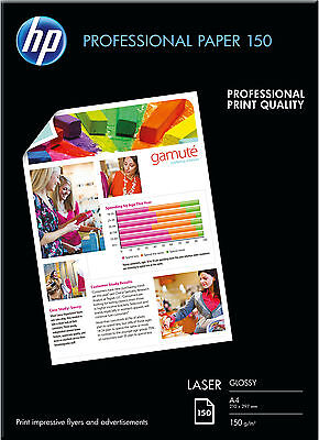 Hp A4 Professional Glossy Photo Paper 150Gsm – 150 Sheets - Cg965A