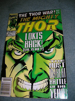 1991 The Mighty Thor # 441 The Thor Wars ! Part 4 Of 4
