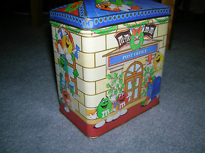 M & M 's Candy Tin Of The The Postal Office Tin Series