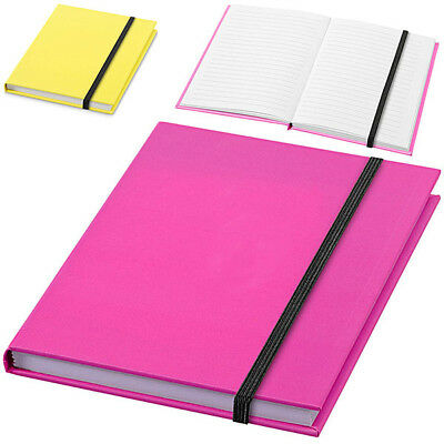 Notebook per Appunti Nio 72 Fogli A6 a Righe Memo Block Notes Elastico