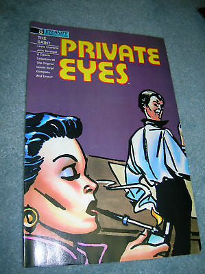 1989 Private Eyes # 5 Golden Age Stories Eternity Comic