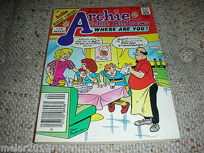 Archie Archie Andrews Where Are You Comic Digest  Magazine # 44 June 1986