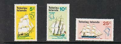 NEW STAMPS from  TOKELAU ISLANDS  1970 SHIPS    (MNH)  lot 282
