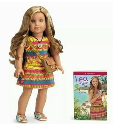 AMERICAN GIRL LEA Doll Girl of the Year 2016 NIB NEW Necklace Messenger Bag