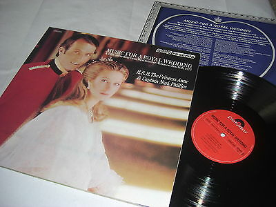 (3806) Princess Anne Mark Phillips-Music for a Royal Wedding-FOC-1970 - Beilage