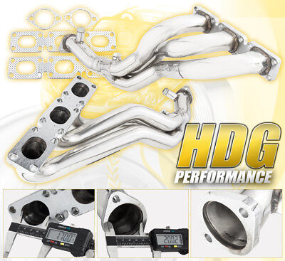 High Performance 2pc Stainless Steel Exhaust Header For BMW E46 E36 Z3 Z4 X3 X5