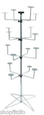 Four Level Hat Spinning Display Stand