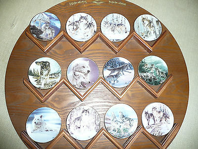 Year Of The Wolf, Mini Collector Plate Set
