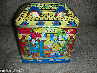 M&m's Christmas Limited Edition Canister Toy Shop # 03 - 1996