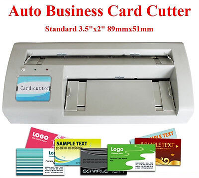 "Business Card Slitter 3.5X2.0"" Full Bleed Latter Size Paper&A4 Size Paper"