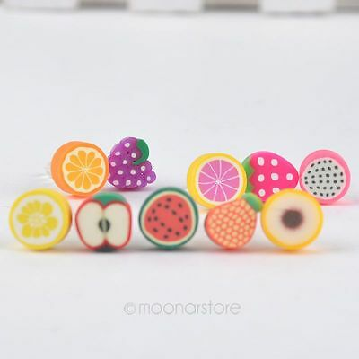 Mobile Phone Anti Dust Plug Fruit Charm Earphone 3.5mm Jack Gift 5PCS