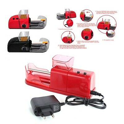 Easy Automatic Electric Tobacco Rolling Injector Machine Cigarette Maker Roller