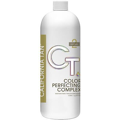 California Tan Color Perfecting Complex Instant Sunless Solution Tinted 1,000ml