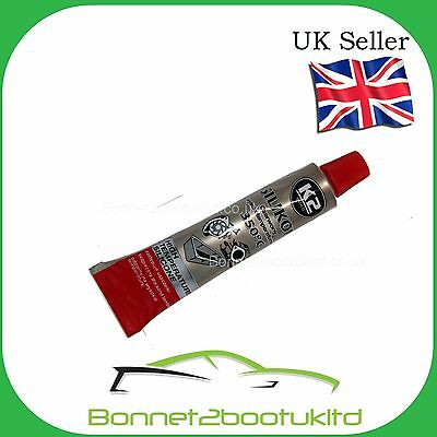 K2 High Temp Red Liquid Gasket for sumps/water pumps etc 21g Tube upto 350c