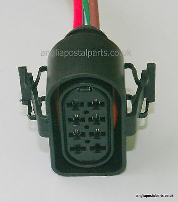 8 PIN PIGTAIL LEAD SUITABLE for EBERSPACHER HYDRONIC WIRING LOOM...FREEPOST