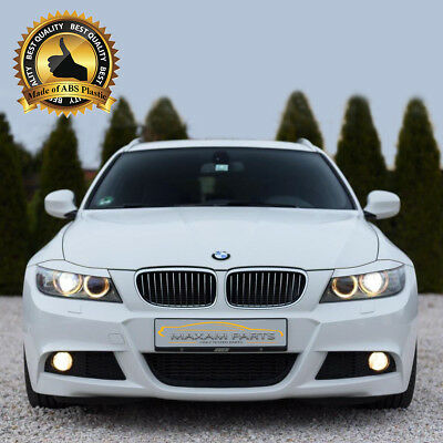 = BMW 3 E90 / E91 2005-2012 Headlight Brows Lids Eyebrows Eyelids = ABS =