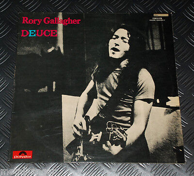 Rory Gallagher 'Deuce' First Press French '71 Original LP w Cover Rare EX Rock