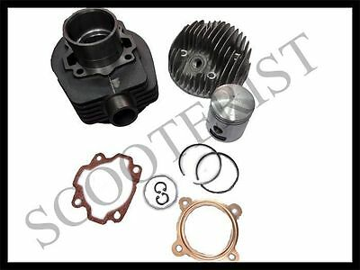 Vespa Bajaj 2 Port Cylinder Barrel Piston Head Complete Kit 150 Vbb Vlb Vma Vnt