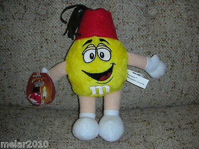Indiana Jones M&M Plush 9 Inch  doll with Tag