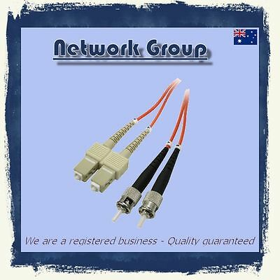 10 x Fiber Optic ST-SC adapter 3 Meter 10GB DX patch cord 50/125 MM Multimode