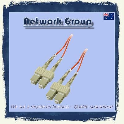 10 x Fiber Optic SC-SC 3 Meter 10GB DX patch cord 50/125 Duplex