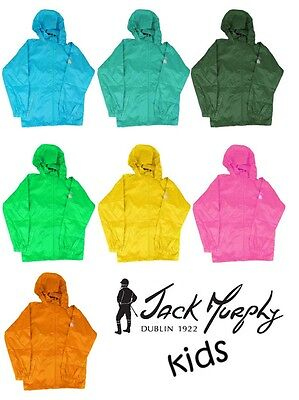 Jack Murphy 'Lite' Women's Waterproof Breathable Windproof Packaway Mac in a Sac