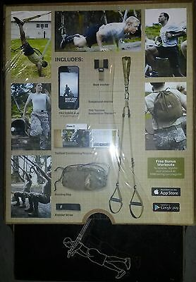 TRX KIT FORCE 2 de suspension + programme 12 semaines TRAINING *NEUF*