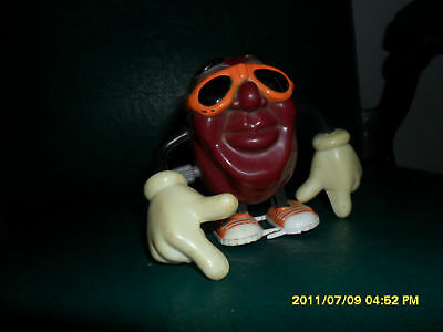 1980's California Raisin With Glass's Wind Up Toy