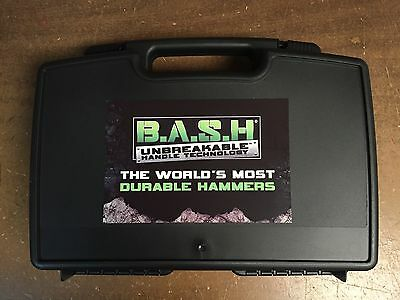 Wilton 3pc BASH Hammer Set With Case, Sledge, Ball Pein & Cross Peon Hammers