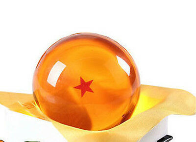 "Dragon Ball DragonBall Z Crystal Ball 1 Star Diameter 3""/7.5cm Ball New in Box"