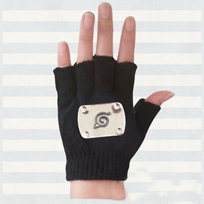 New Ninja Hatake Kakashi Glove Cosplay Costume A Pair of Woolen party glove