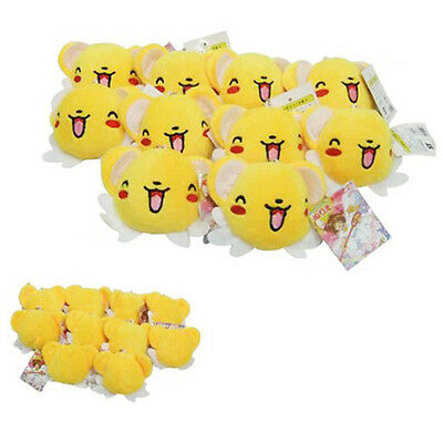 Card Captor Sakura Kero Plush Doll Toys Stuffed Pendant Keychain