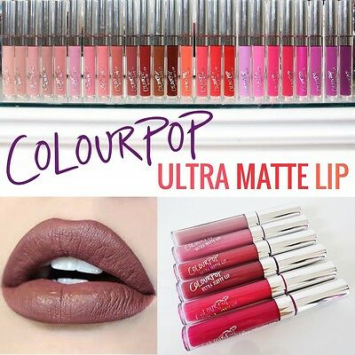 New ColourPop Ultra Matte Lip Liquid Lipstick All Shades Colour Pop UK SELLER