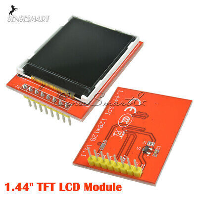 "128X128 1.44"" Serial SPI Color TFT LCD Module Display Replace Nokia 5110 LCD Red"