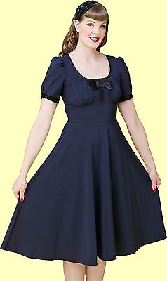c5987962a93e Stop Staring! - Elegant Blue Radiant Swing Dress. New With Several Sizes.