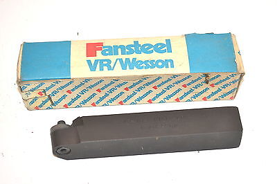 "NOS V R WESSON USA Lathe TOOL HOLDER RAR-16-6 Indexable  1"" X 1"" X 6"" #M15.4D"