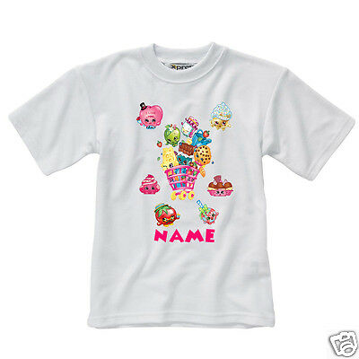 Personalised Children's T-Shirt - Shopkins - Style 5 - Season 2