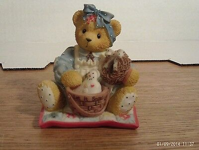 Cherished Teddies: Suzanne: Home Sweet Country Home: 1999