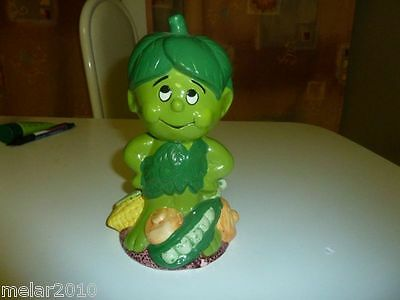Vintage Little Green Sprout Musical Bank- Green Giant Co. 1985