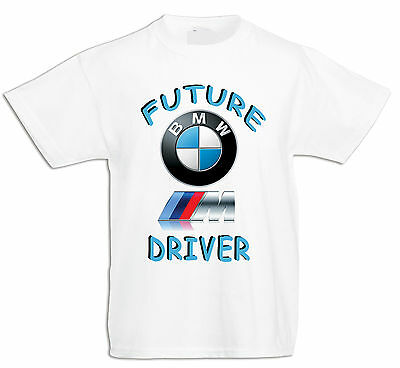 BABY/KID/TODDLER T-Shirt,Future BMW M Power DRIVER LOGO ,Jungen/Mädchen KURZARM