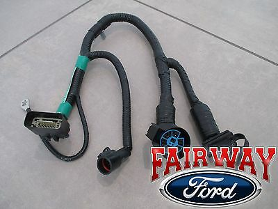05 THRU 07 F-150 OEM Genuine Ford 7-Pin Trailer Tow Wiring Harness F Oem Trailer Wiring Harness on f150 trailer wiring diagram, ford trailer plug harness, f150 wiring schematic, f150 trailer wiring plug,