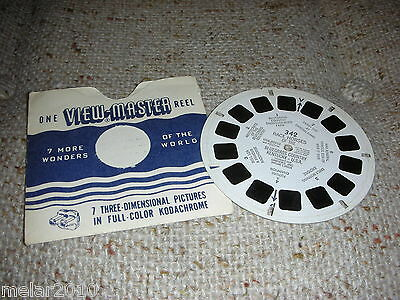 Vintage Sawyer's View-Master # 342 Race Horses of The Bluegrass Country KY.U.S.A