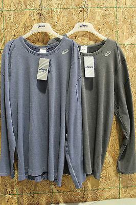 ASICS Men's ASX SEAMLESS LS Running Shirt~Free Ship! - Two Colors