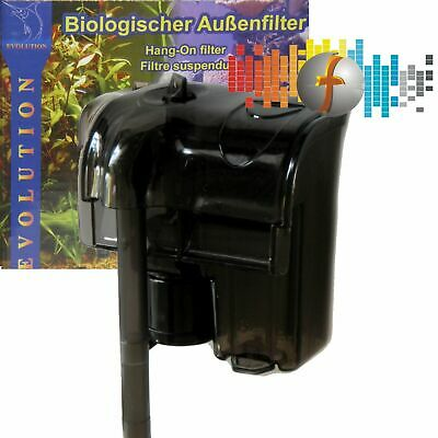 Biologisher Außenfilter Evolution AF02-300 300 l/h, Anhängefilter Hang-on filter