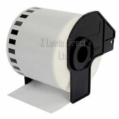 5x Brother Compatible DK-22205 Printer Labels 62mm Roll+Spool for QL-560 QL-570