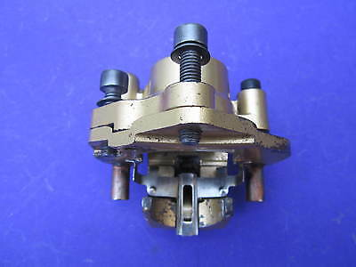 Piaggio Nrg Power Dd 2008 Front Brake Caliper Cleaned & Checked Gold 600734