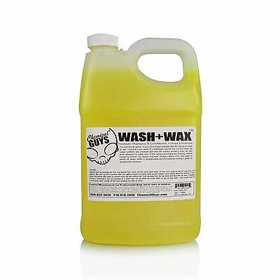 Chemical Guys CWS_102 - Wash & Wax Car Shampoo with Gloss (1 Gal)
