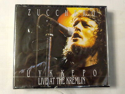 Zucchero  -  Uykkepo  -  Live At The Kremlin  -  2 Cd Nuovo E Sigillato